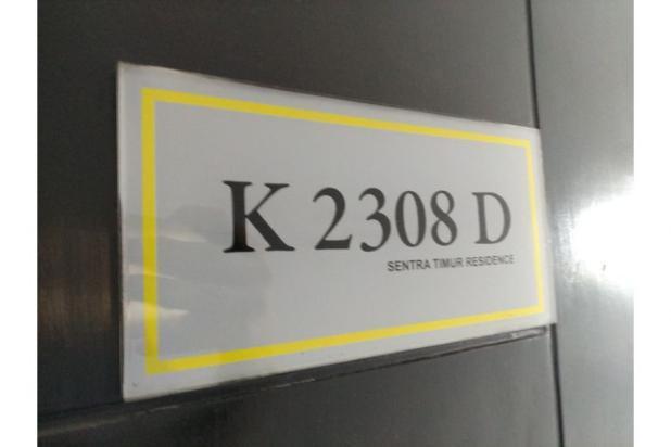 apartemen sentra timur 2 br tower kuning K2308D 12414674
