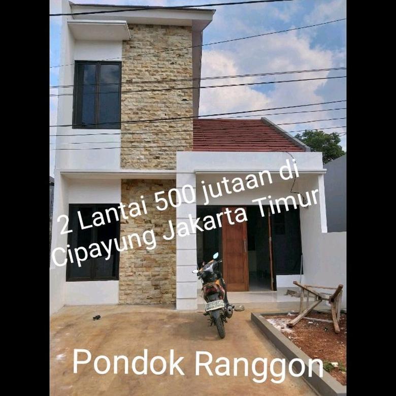 Rumah Syariah 500 jutaan di Pondok Ranggon Cilangkap Jakarta Timur