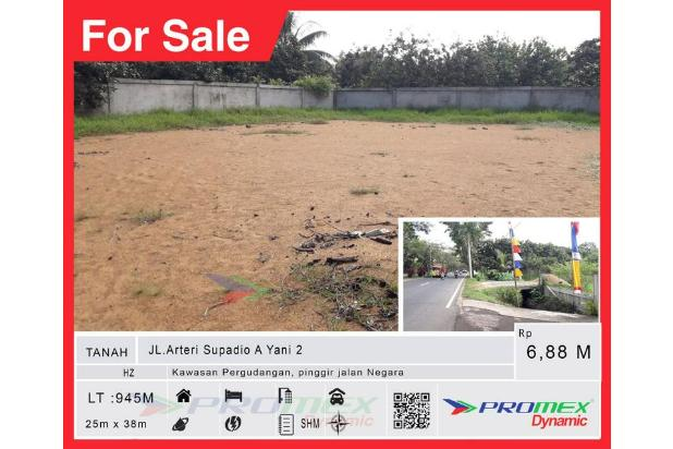 Rp6,5trily Tanah Dijual