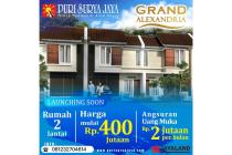Rumah Grand Alexandria Puri Surya Jaya Sidoarjo 2 Lantai Baru