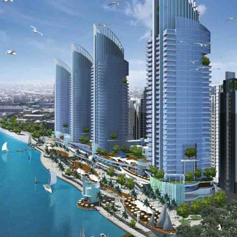 Apartemen Green Bay Pluit Murah,Bagus Pemandangan Pantai Hadap Timur