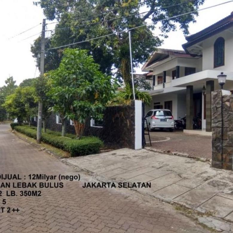 Rumah Dijual Di Lebak Bulus Cilandak Jakarta Selatan