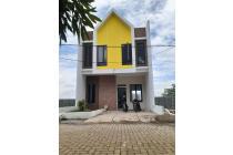 Rumah HOOK compact tipe 60 model ceria di PADALARANG dekat LOTTE MART