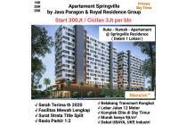 Apartement Springville Rungkut Surabaya Timur dijual Baru Murah