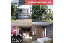Rumah Katamara Indah, PIK, Jakarat Utara, 387.5 m², 3½ Lt, SHM.