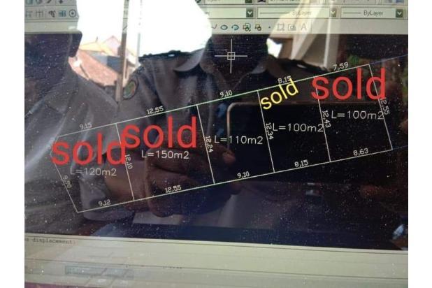 Rp533jt Tanah Dijual
