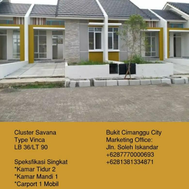 Perumahan Bukit Cimanggu City Bogor Cluster Savana