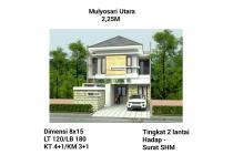 Dijual rumah murah mulyosari utara surabaya timur siap huni baru gress luas