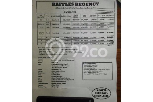 Dijual Cluster Eksklusif Minimalis di lokasi yang strategis 14318933