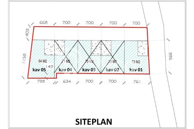 Mau Rumah Hemat 40%: KPT Bank Cluster Green Melati 16047577