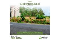 Tanah kavling Bagus Jogja Barat Mangku Aspal Jalan Propinsi