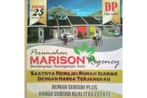 Marison Regency,  perum subsidi  berkelas estate  dI   Solo  utara