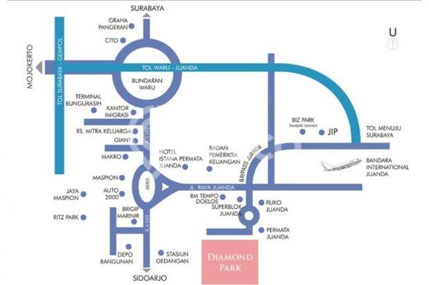 Rumah Minimalis dekat Bandara Juanda Pink Diamond 5868573
