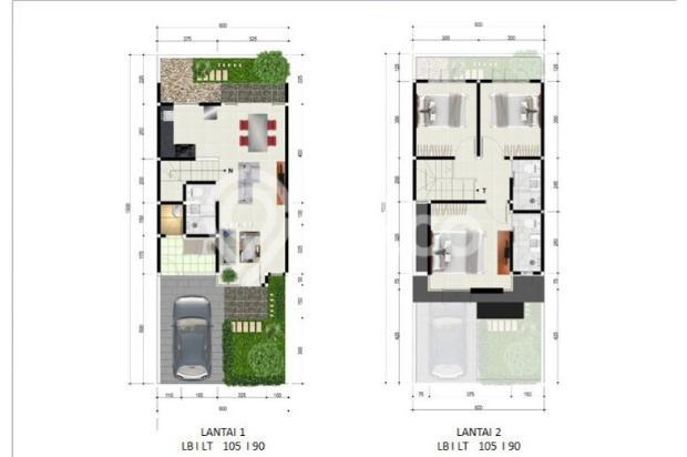 Rumah Minimalis dekat Bandara Juanda Pink Diamond 5868580