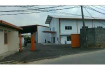Dijual Pabrik di Kawasan Industri Batujajar, Kabupaten Bandung Barat.