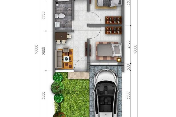 Rp744jt Rumah Dijual