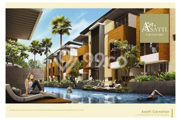 Rumah 3 Lantai dijual per lantai hanya di Asatti Garden House At Vanya Park 18803596