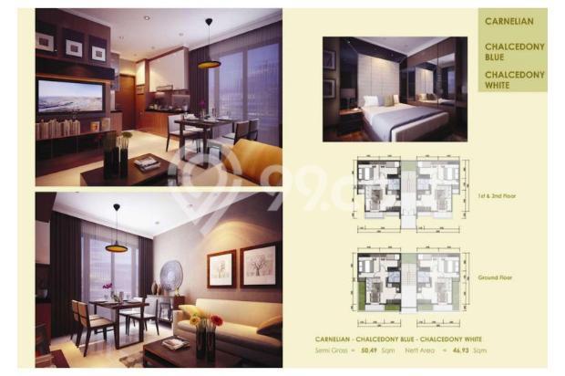 Rumah 3 Lantai dijual per lantai hanya di Asatti Garden House At Vanya Park 18803599