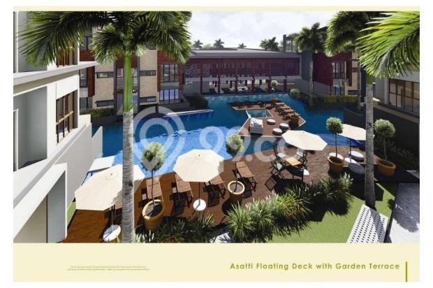 Rumah 3 Lantai dijual per lantai hanya di Asatti Garden House At Vanya Park 18803602