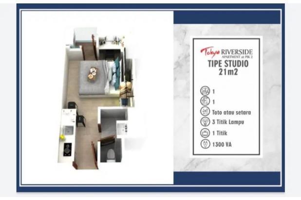 Rp332jt Apartemen Dijual