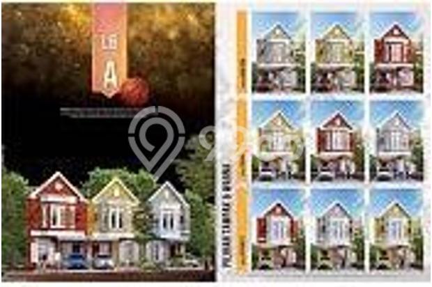"NEW BOSTON VILLAGE by PARAMOUNT LAND "" Rumah di Gading Serpong Tangerang 7939198"