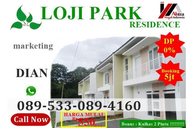 Dijual Rumah murah hunian asri dan sejuk tanpa DP 2 lantai 550jt 17306525