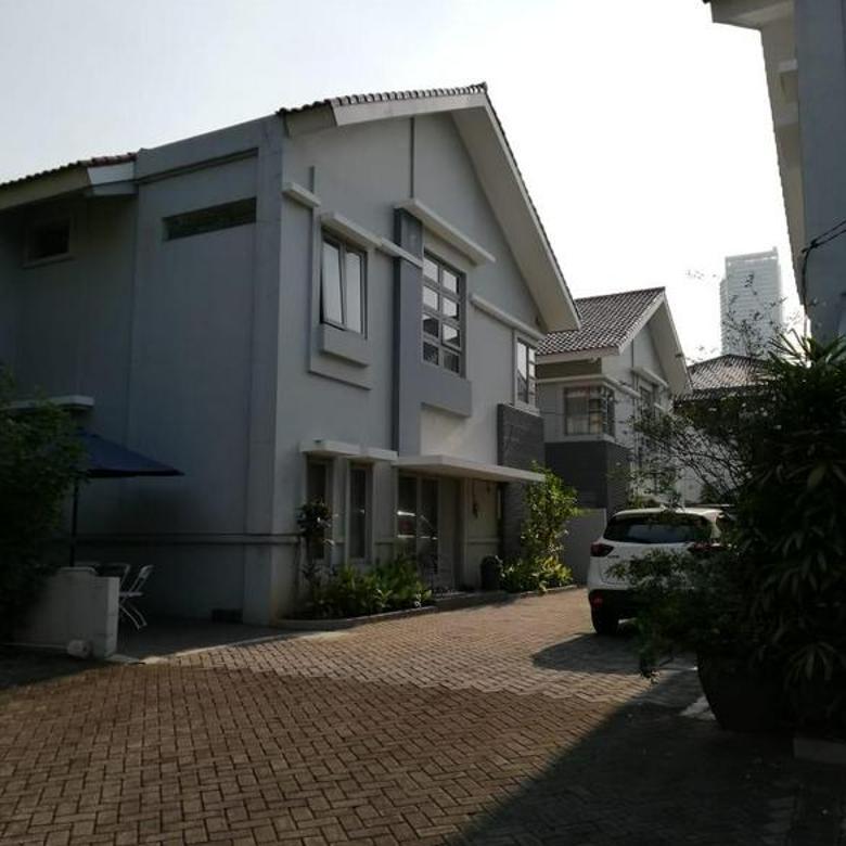 4 Rumah Townhouse Di Menteng Strategis Jakarta Pusat