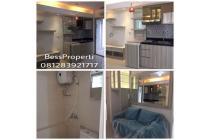Bassura city apartemen tower Jasmine 2bedroom hoek 40m2 furnish baru