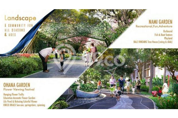 """Rumah Konsep JEPANG Perdana di BSD """" The ZORA"""" Cicil 36 X Tanpa Bunga 15895045"""