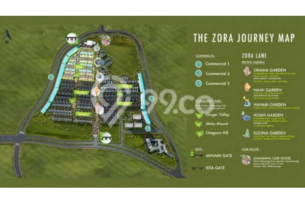 """Rumah Konsep JEPANG Perdana di BSD """" The ZORA"""" Cicil 36 X Tanpa Bunga 15895046"""