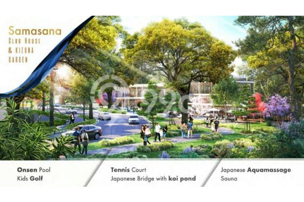 """Rumah Konsep JEPANG Perdana di BSD """" The ZORA"""" Cicil 36 X Tanpa Bunga 15895051"""