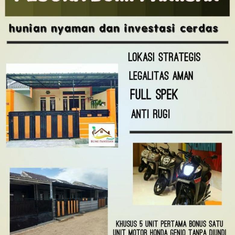 Rumah Minimalis Strategis Bandung, Cashback 10 Jt