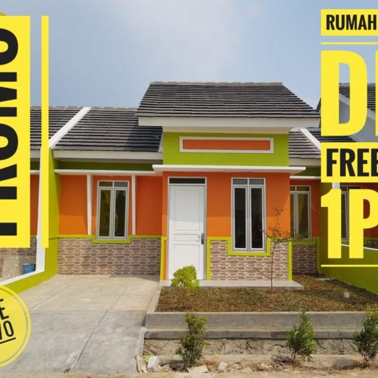 Promo rumah tanpa dp dan siap huni tanpa renovasi di Cibitung