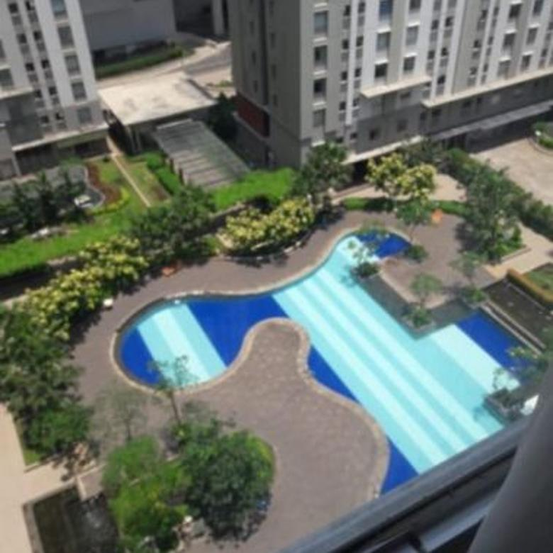 2BR Furnish GreenBay Tower C Dekat Dropoff & View Pool