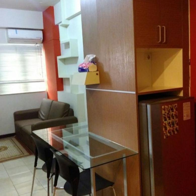 Apartemen Metro D'Suites Menghadap Kolam Renang Tipe 2BR