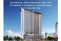 Dijual Apartemen 3BR Murah Strategis di Skandinavia TangCity Tangerang