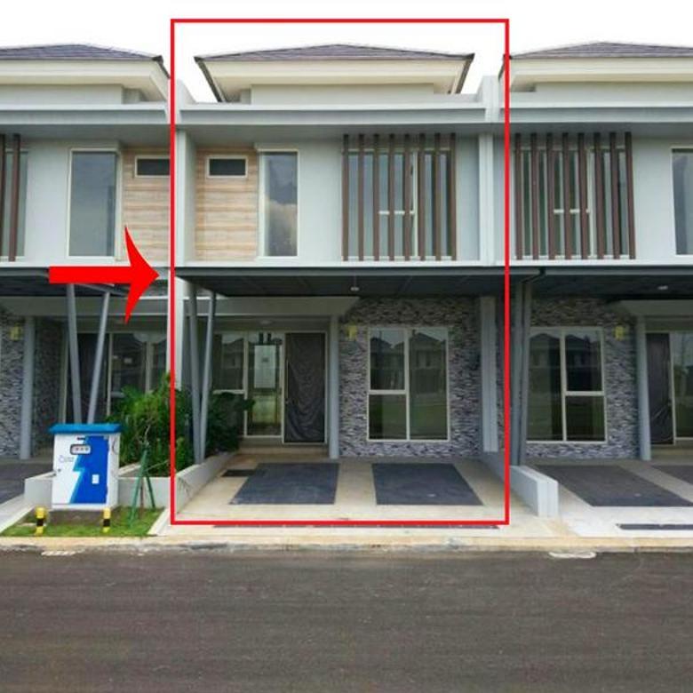 Rumah Baru Mewah Minimalis Cluster Mississippi @ Jakarta Garden City TERMURAH dekat AEON MAL, IKEA & TOL