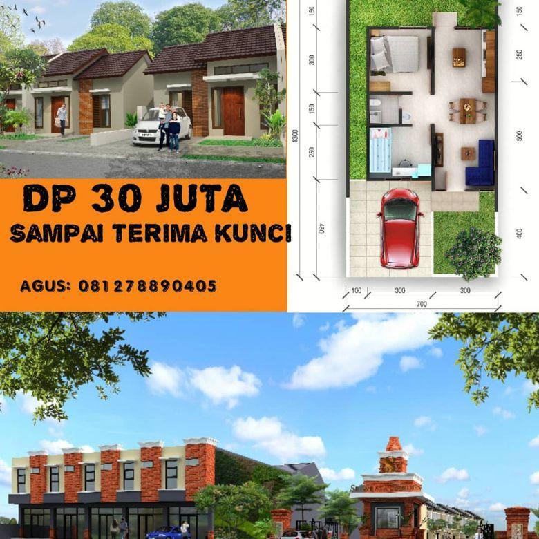 Rumah strategis di pusat kota palembang
