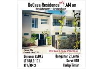 Rumah Baru Decasa Residence Surabaya Barat Konsep Villa