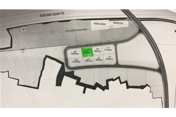 Rp35,8mily Tanah Dijual