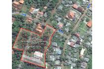 Dijual sebidang tanah & bangunan bekas workshop mebel di Bekasi Timur