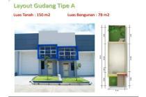 Gudang Kutawaringin Industrial Park Bandung.