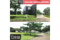 Kavling Gading Serpong, Cluster Scarlet, Tangerang, 300 m², PPJB