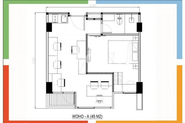 kantor dan rumah (WOHO) Metropolitan Park Bekasi 12746425