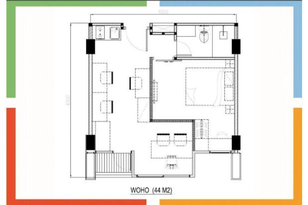 kantor dan rumah (WOHO) Metropolitan Park Bekasi 12746426