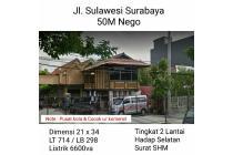 Rumah strategis jalan Sulawesi Surabaya
