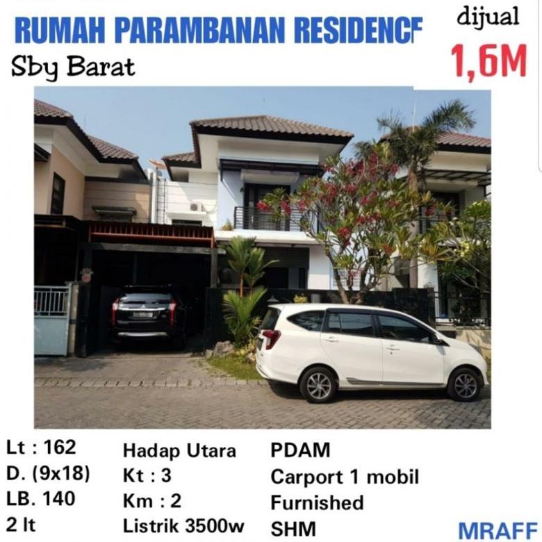 rumah prambanan residence murah furnished siap huni strategis