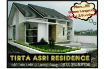 Rumah Minimalis Full furnish Tirta Asri Residence di sayap Buahbatu Bandung