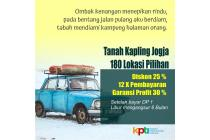 Kavling Tanah Wates Diskon 25% Sertipikat SHM