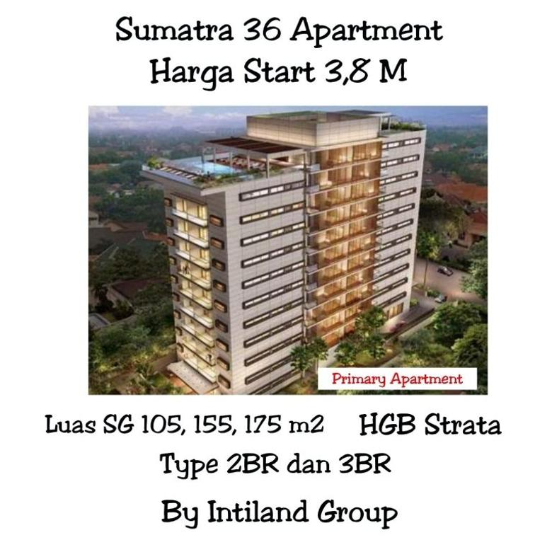Apartement Sumatra 36 Pusat Kota Surabaya